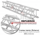 Lloguer Truss quadrat de 300 mm x 300 mm 2m